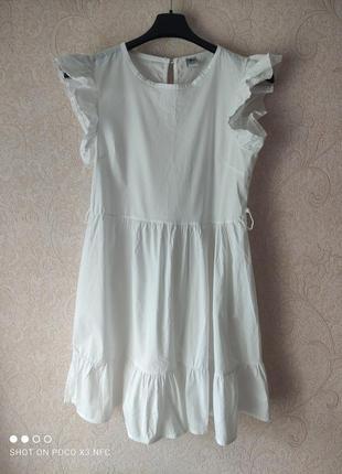 Платье летнее для девочки, сарафан с рюшами, сукня для дівчинки 12-14 лет