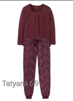 Комплект esmara домашний,реглан и штаны,большой размер