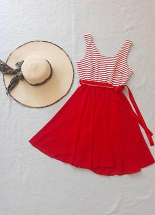 Платье летнее для девочки, платье в полоску, сукня для дівчинки 14-16 лет