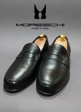 Туфли пенни-лоферы moreschi италия