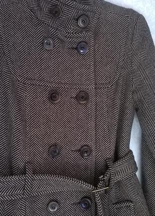Пальто шерстяне