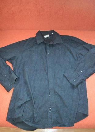 Шикарная рубашка calvin klein (xxl)