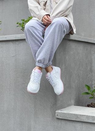 Женские кроссовки nike air force натуральная кожа5 фото