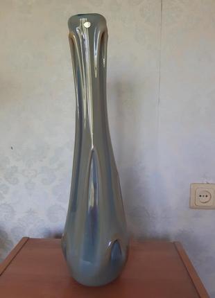 Узкая ваза ссср напольная