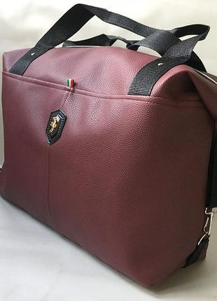 Новая женская сумка из эко кожи,щопер, спортивная дорожная сумка