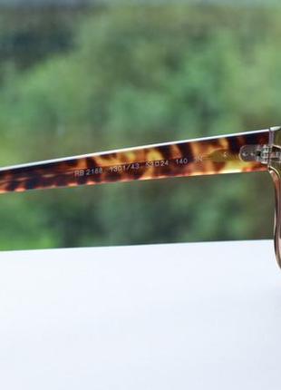 Солнцезащитные очки, окуляри ray-ban 2188, оригинал.7 фото