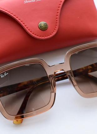Солнцезащитные очки, окуляри ray-ban 2188, оригинал.8 фото