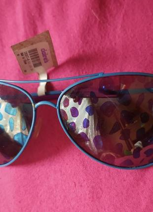 Очки с принтом леопарда 100%защита от ультрафиолета