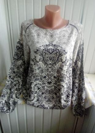 Тоненькая вискозная блуза