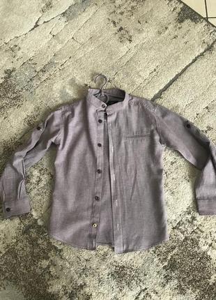 Сорочка рубашка кофта воротник стойка