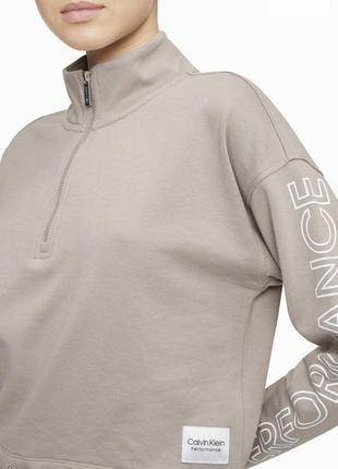 Женская толстовка свитшот пуловер кофта calvin klein оригинал