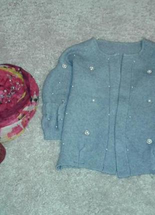 Кофта, короткий кардиган, свитер2