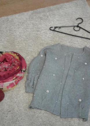 Кофта, короткий кардиган, свитер4