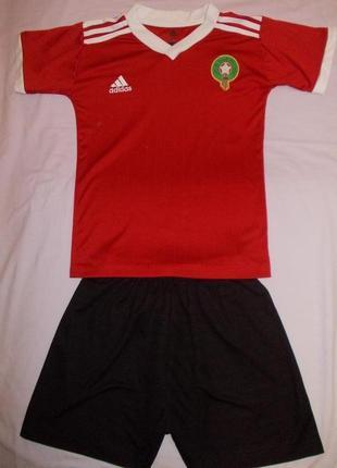 Футбольная форма adidas на 11-12 лет рост 146-152 см
