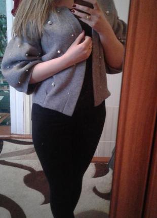 Кофта, короткий кардиган, свитер1