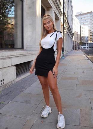 Костюм платье и футболка