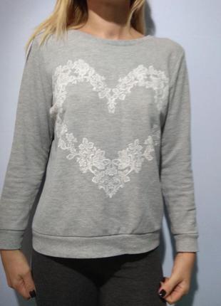 Свитшот свитер осень зима
