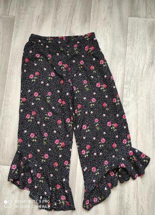 Літні брюки кюлоти