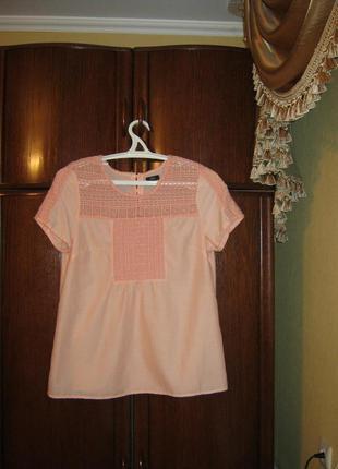 Блуза f&f, 100% хлопок, размер 16