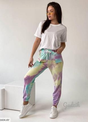Модные 🔥 цветные джоггеры спортивные штаны
