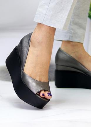 """Туфли """"round"""" материал - натуральная кожа внутри - натуральный кожподклад"""