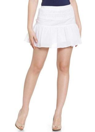 Ажурная мини юбка, размер 40 евро