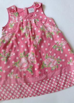 Хлопковое платье р.86