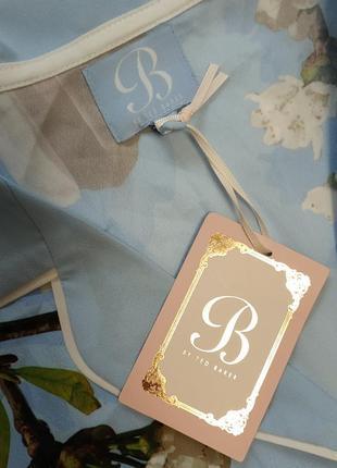 By ted baker ,12 рубашка для сна полиэстер в цветочный принт4 фото