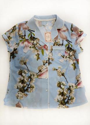 By ted baker ,12 рубашка для сна полиэстер в цветочный принт1 фото