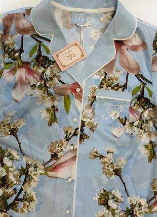 By ted baker ,12 рубашка для сна полиэстер в цветочный принт2 фото