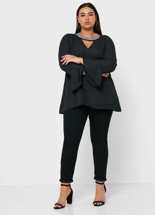 Новая нарядная блузка большого размера evans р28