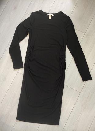 Плаття для вагітних в рубчик h&m
