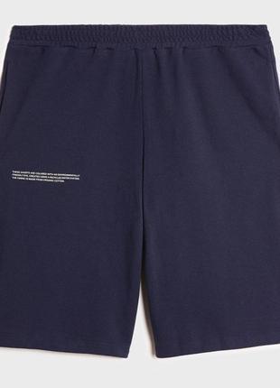 Оригінальні шорти pangaia organic apc cotton pique shorts acne ami