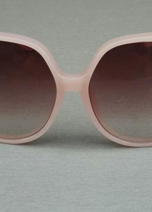Chloe очки женские солнцезащитные очень большие нежно розовые с градиентом2 фото