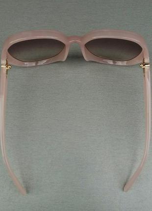 Chloe очки женские солнцезащитные очень большие нежно розовые с градиентом4 фото