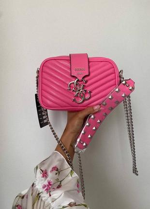 ❤ женская розовая сумка сумочка ❤7 фото