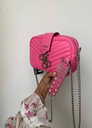 ❤ женская розовая сумка сумочка ❤10 фото