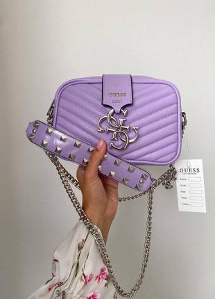 ❤ женская сиреневая сумка сумочка ❤