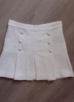 Шикарная юбка zara в стиле chanel