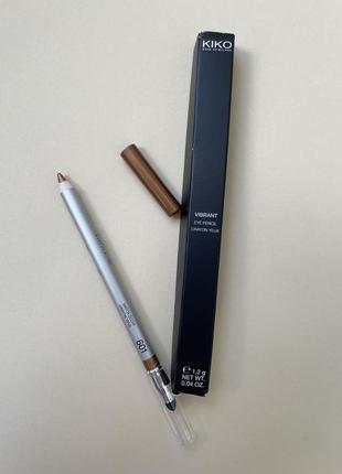 Карандаш для глаз kiko milano vibrant eye pencil 601