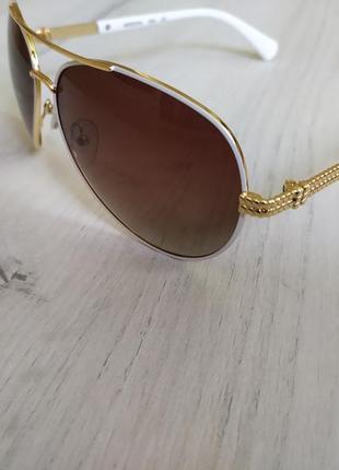 Красивые поляризационные женские очки авиаторы окуляри капли arizona