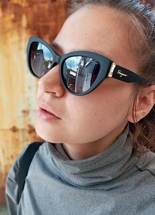 Стильные очки кошки очки лисички стиль одри хепбёрн матовая оправа поляризация9 фото