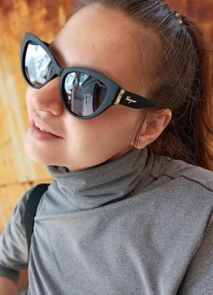 Стильные очки кошки очки лисички стиль одри хепбёрн матовая оправа поляризация10 фото