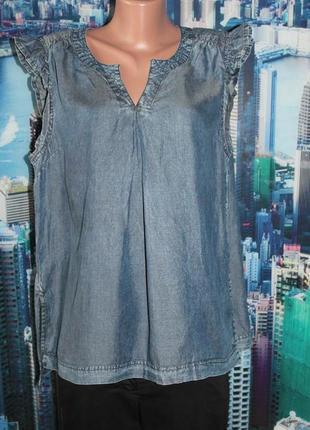 Блуза тонкий джинс