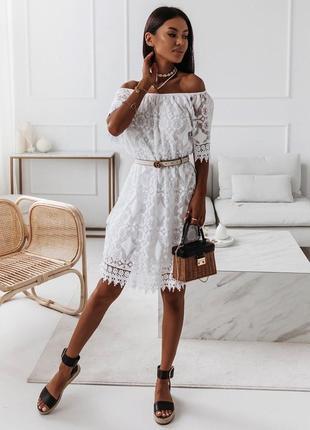 Сарафан летнее платье кружево италия
