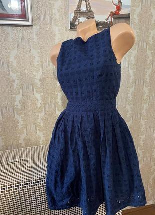 Красивое платье с прошвы