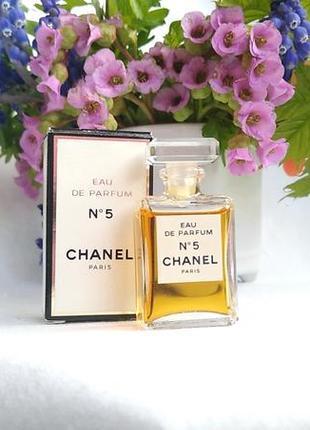 Миниатюра chanel no 5 отchanel, 4 мл, парфюмированная вода