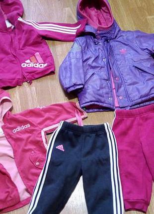Куртка adidas, костюм adidas, ветровка адидас, красовки puma