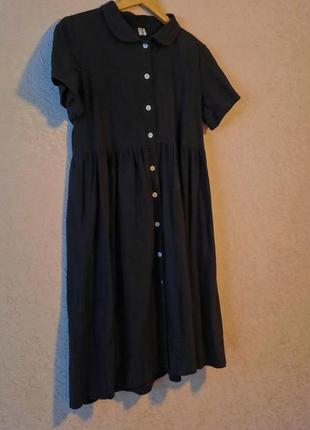 Чёрное милое платья
