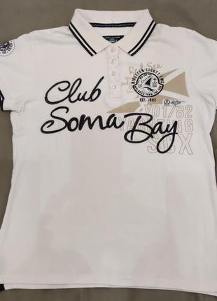 Женская футболка поло soccx